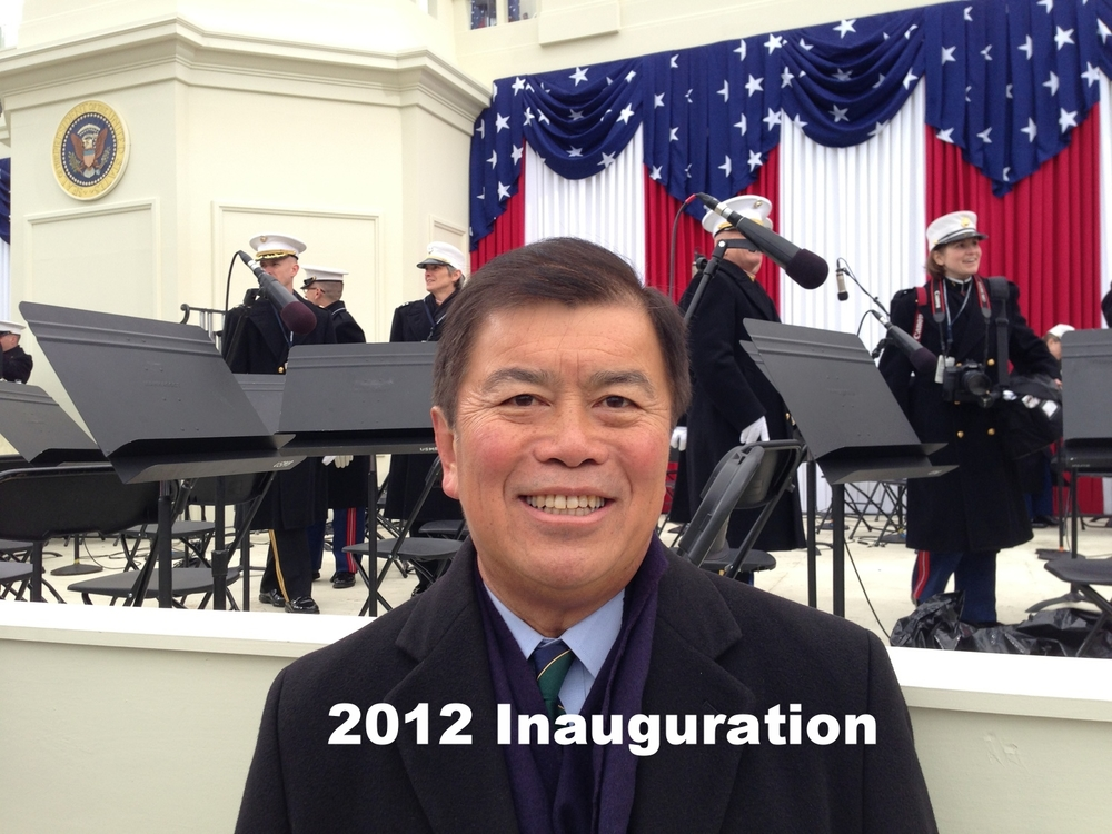 David Wu at the 2012 Inauguration