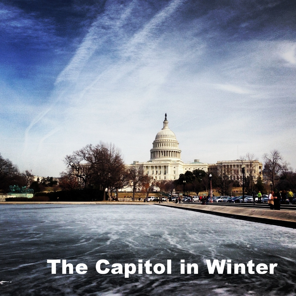 David Wu Photograph-The Capitol in Winter