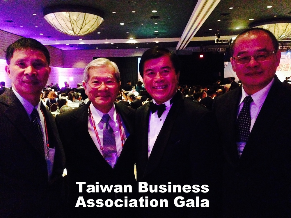 David Wu at Taiwan Business Association Gala