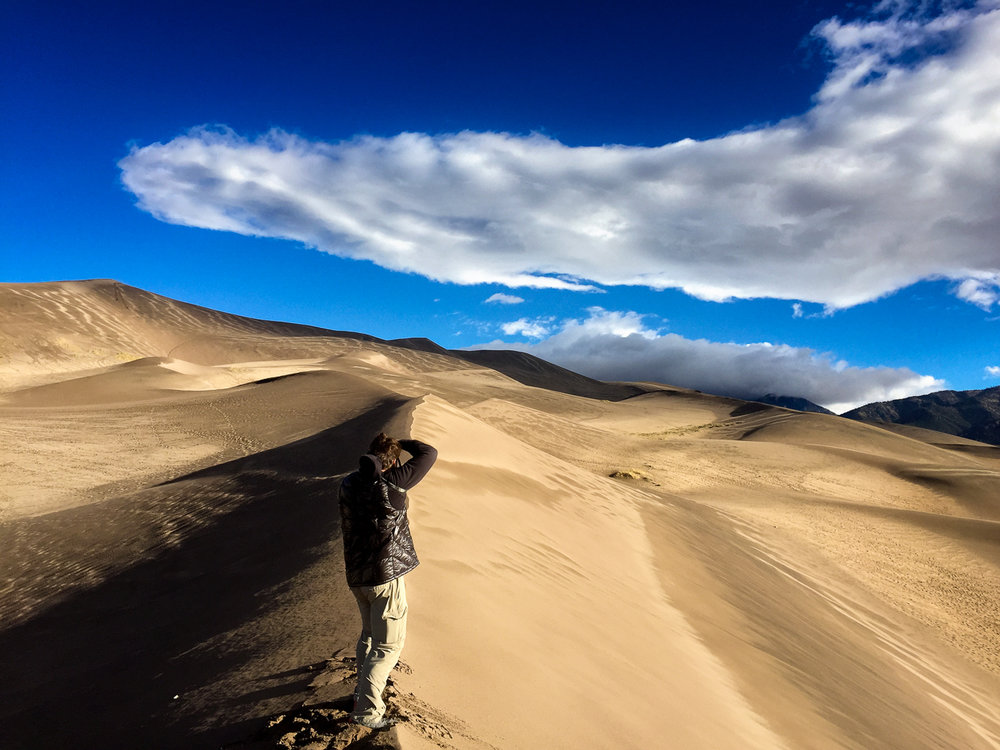 Steve Leath at Great Sand Dunes National Park