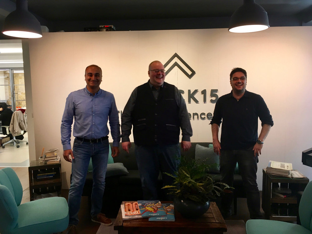 Wrapidity's technical team joins  Meltwater  @  Shack 15