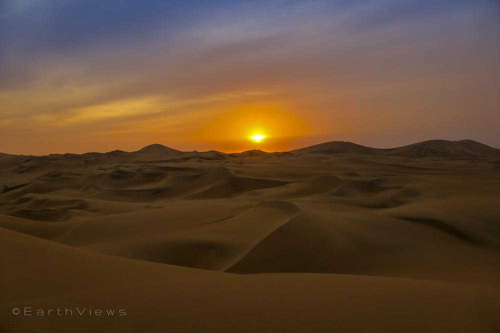 Sechura Desert evening