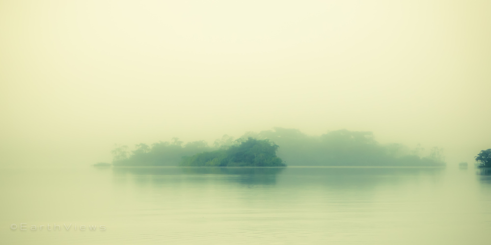 Later in this story: a mysterious morning in the Amazon.