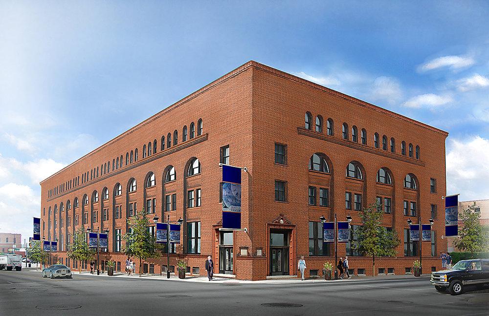The Berdan Building - Artist's Rendition