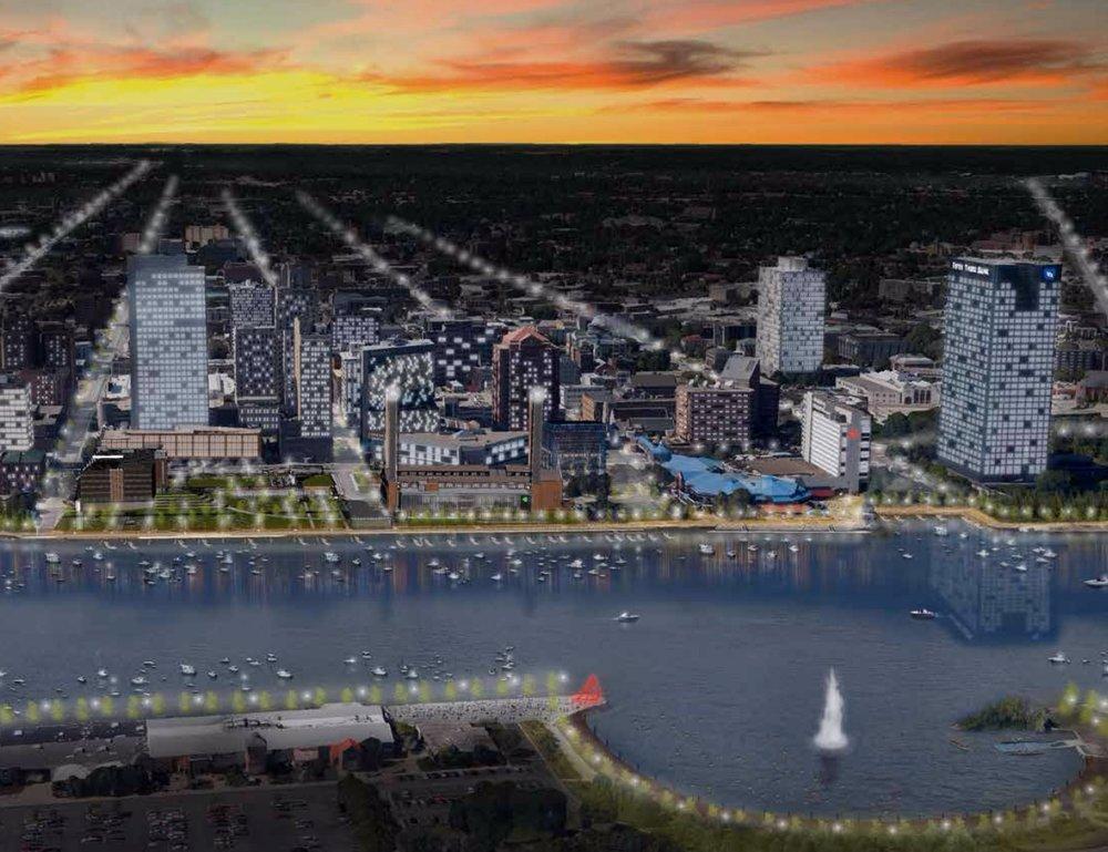 ( Downtown Master Plan )