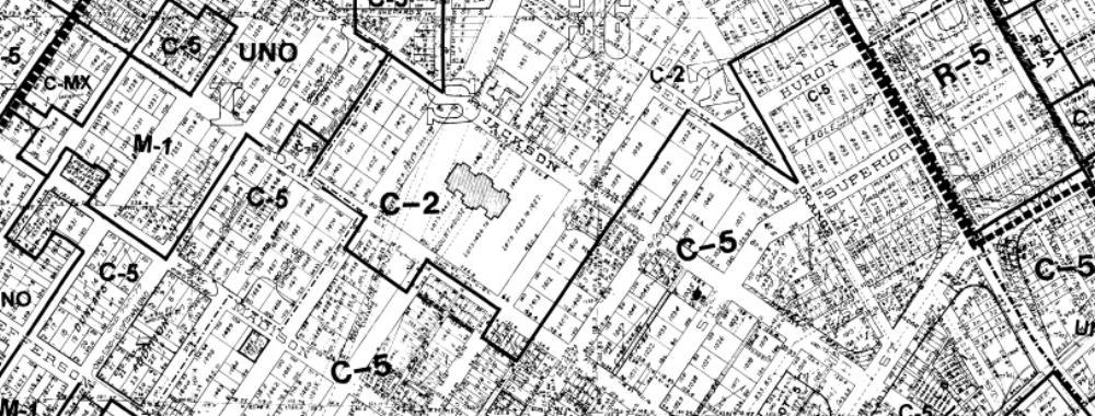 Land Rezoning Map