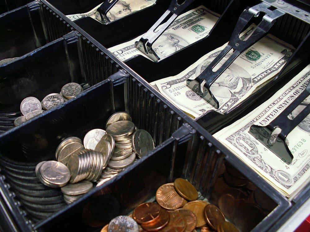 Retail Sales Cash Drawer