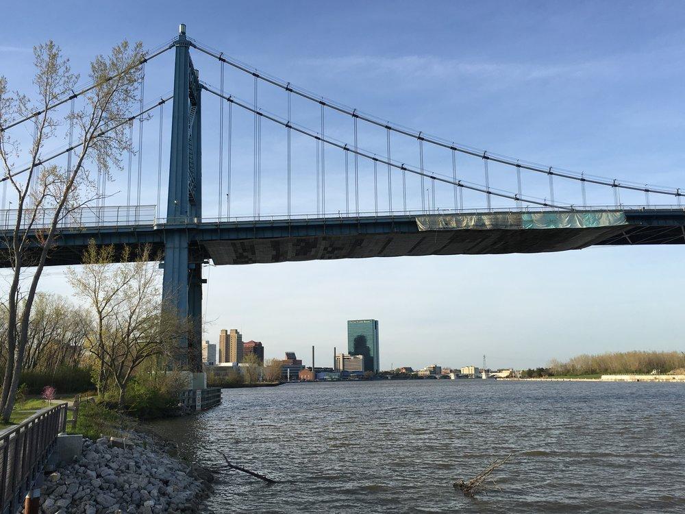 Downtown Riverfront View