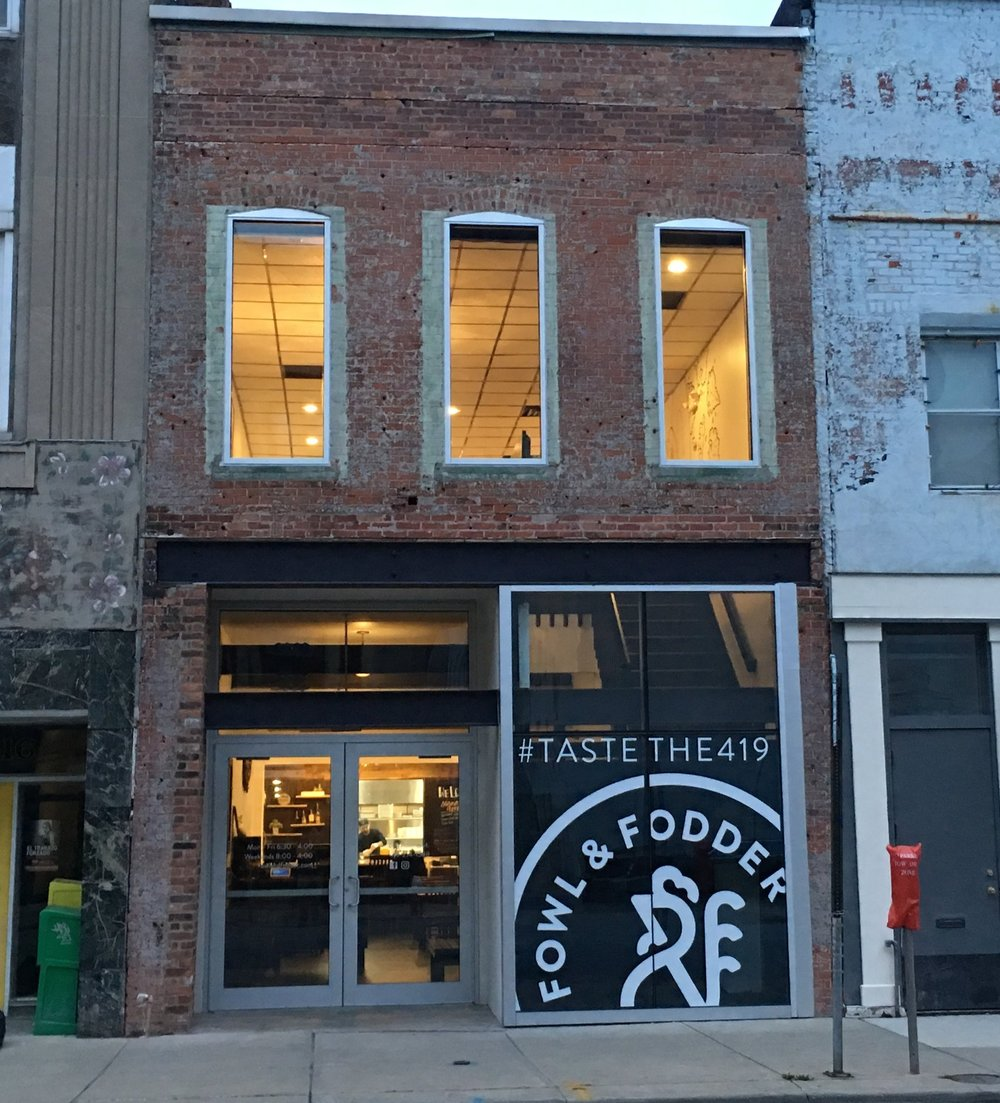 Completed Downtown Renovation Project at 614 Adams St Toledo OH