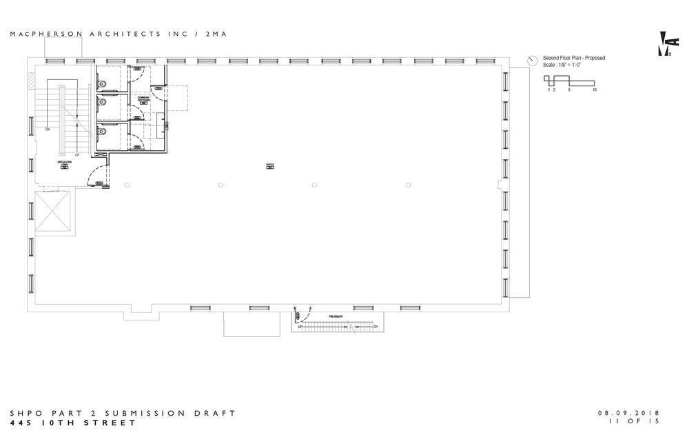 The Andrus Building - 2nd Floor Plans
