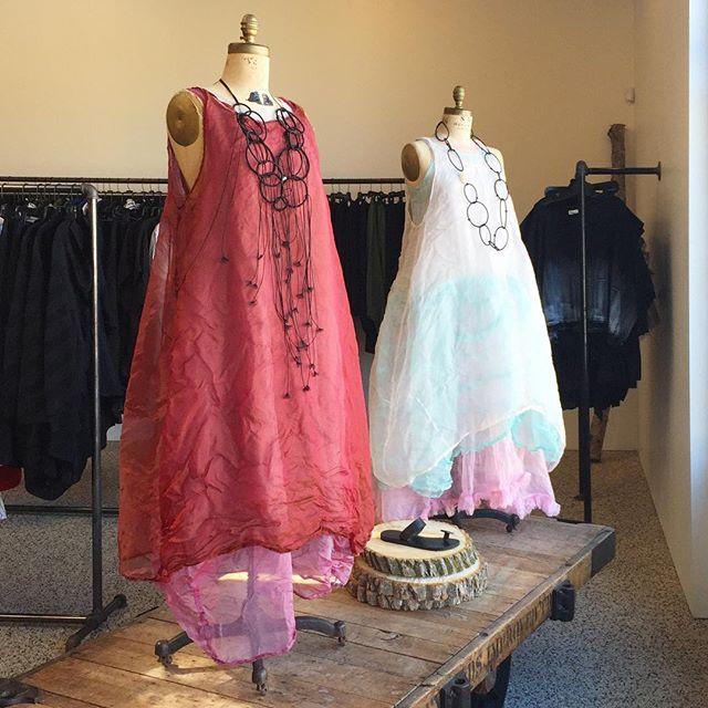 New Tina Givens at Milieu! ❤️ #tinagivens #newarrivals #slipdress #organzadress #layeredlook #color #langenlook #springfashion #celebrationwear #occasiondress #fashion #instafashion #fashionpost #fashiongram #raildistrict #madeinmichigan #shoplocal #milieustyle
