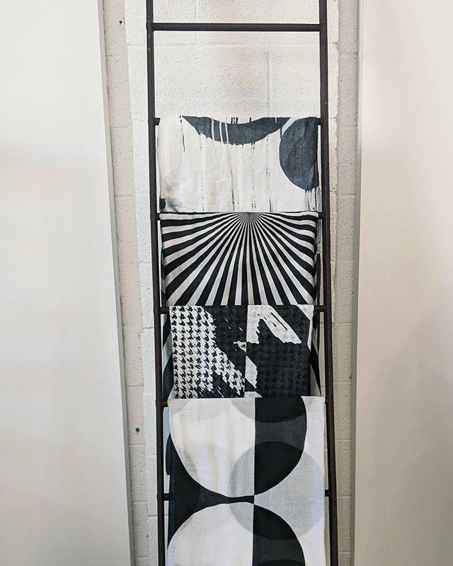 A scarf can be the perfect accessory.  #patterns #blackandwhiteclassic  #womensfashion #boutiqueshopping #accessories #scarfstyle #fashiononinsta #fashionpost #milieustyle #birminghammi #raildistrict #graphicprint #monochromaticfashion #graphicfashion #blackandwhite #birminghamshopping #designerclothing #prints #printsinfashion #interestingfashion #statementpiece #fashionistas #fashiongram #brickandmorter #ecommercefashion #fashiontrends #shoppingonig