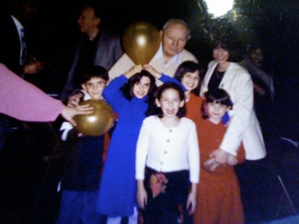[ the oldest photo of me I could find on my computer / somebody's party / I'm the one with the balloon ]