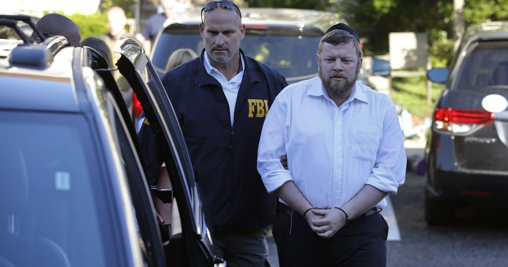 Rabbi arrested in Lakewood New Jersey.
