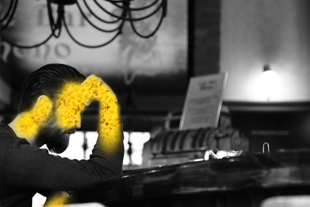 double_yellow_flower_mono_man_at_bar.jpg