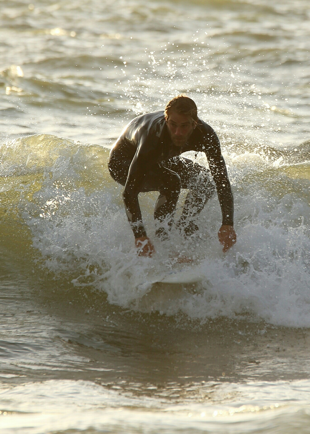 Riding on lemonade, Llangrannog surfing (Canon 6D)
