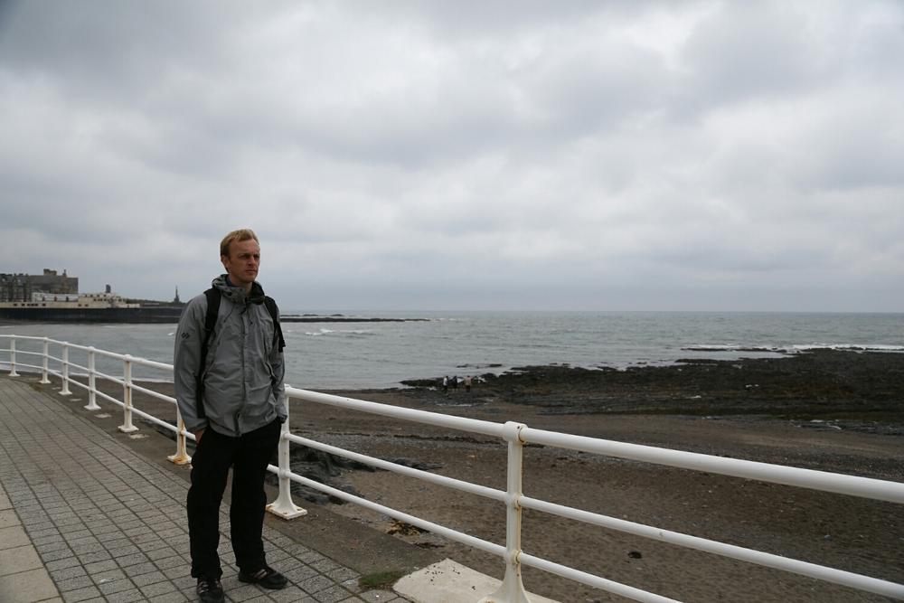 sea front selfie