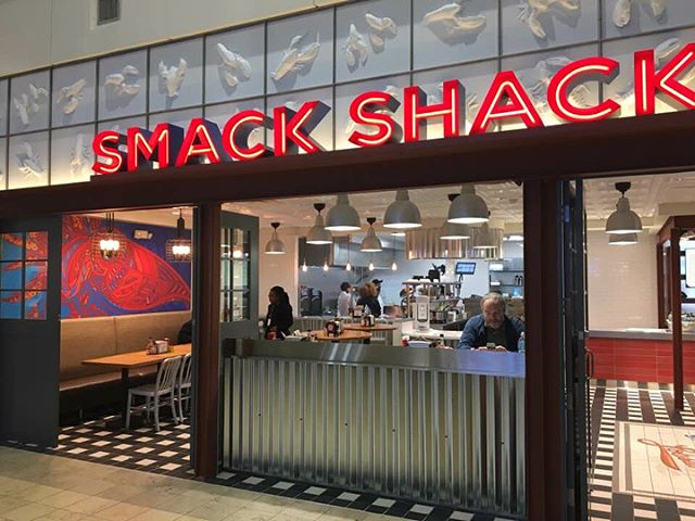 Smack Shack MSP almost doesn't look real—sharing photos snapped by traveling friends—this was a fun revisit on the themes created for their North Loop flagship.