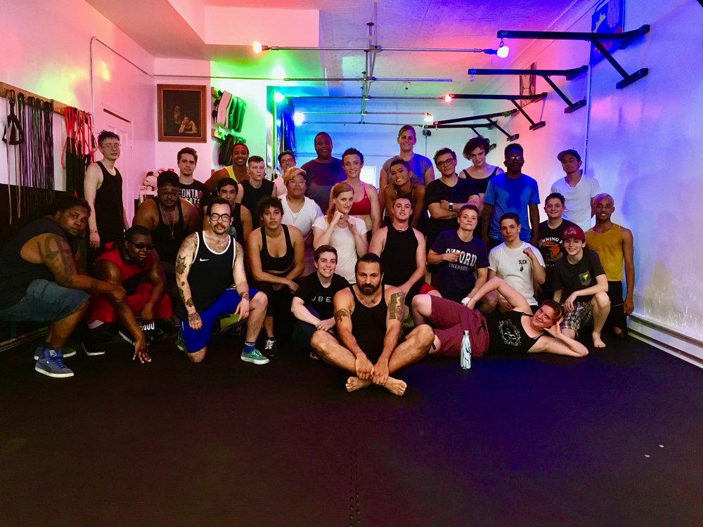 TransBoxing Brooklyn Beginner Boxing - the freedom to be yourself. a boxing collective