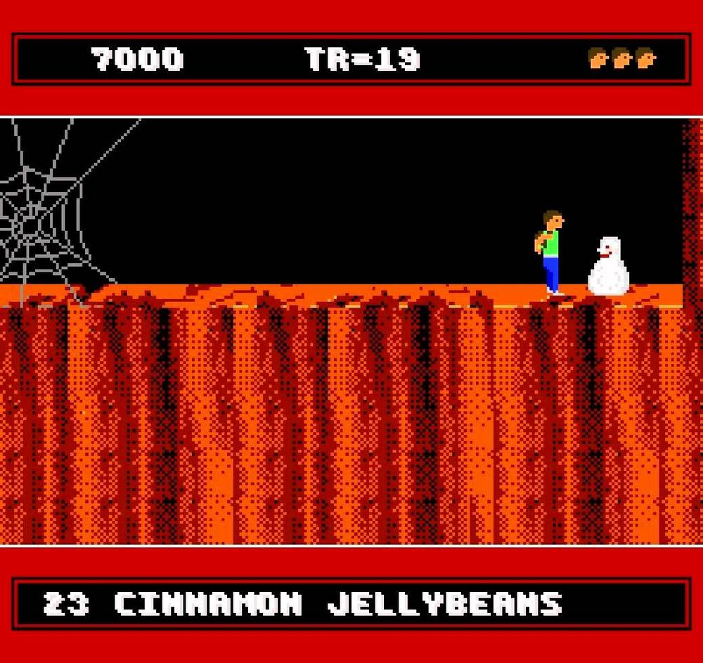 A Boy and His Blob: Trouble on Blobolonia   Nintendo 1989