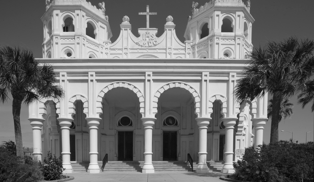 Sacred Heart Church, rebuilt in 1904, Galveston, Texas