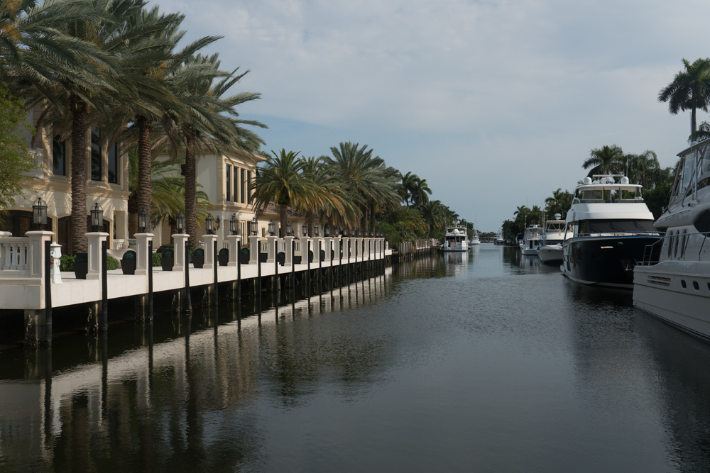East Fort Lauderdale, Las Olas Isles, where every home is on the water.