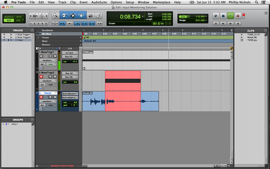 Pro Tools An Alternative To Mutetone For Input