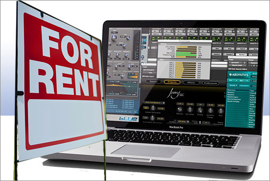 pro tools monthly rental