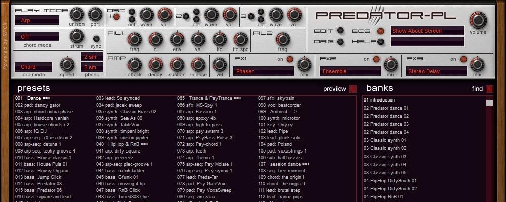PredatorPL- AAX for Pro Tools