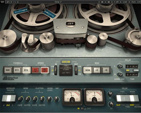 waves j37 tape plug-in