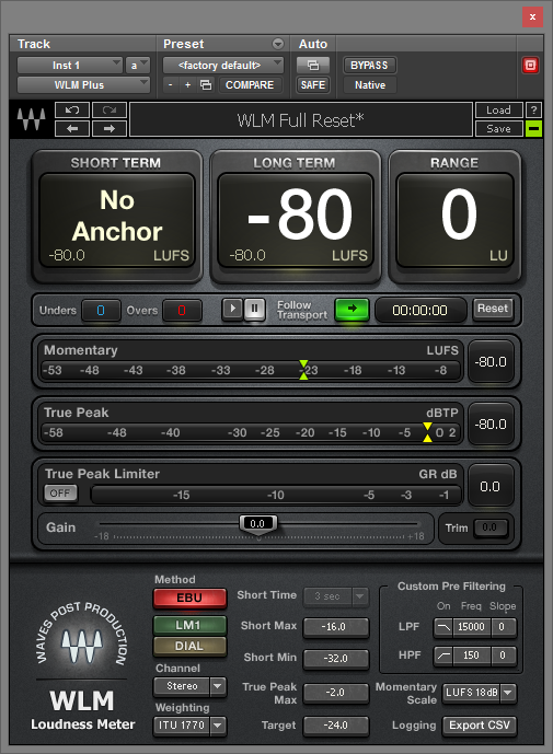 waves wlm loudness meter free download