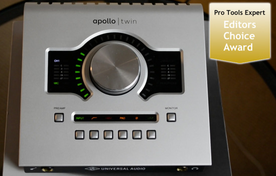 pro tools universal audio apollo twin review thunderbolt equipped audio interface. Black Bedroom Furniture Sets. Home Design Ideas