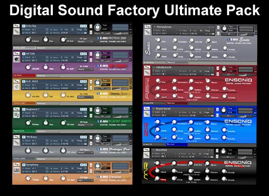 Digital Sound Factory Ultimate E-Mu Ensoniq Rack £149 – 50% Savings