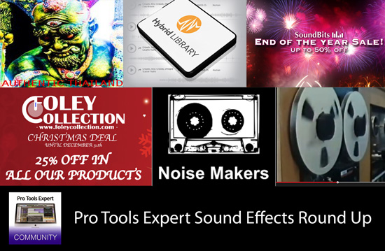 Pro Tools | Sunday Sound Effects Round Up - Star Wars, PSE, A Sound