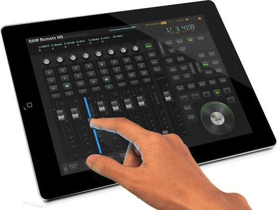 DAW Remote HD - an iPad Based Pro Tools Remote Control App   Pro Tools