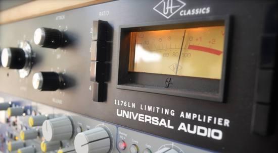 Universal Audio 1176 Hardware Versus The UAD 1176 Limiter