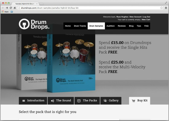 Get Free Yamaha Drum Samples In Multiple Formats | Pro Tools
