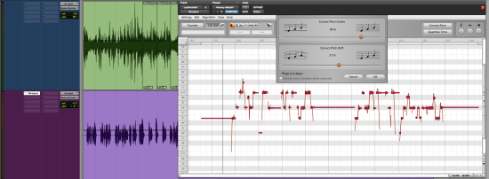 how to open melodyne in pro tools
