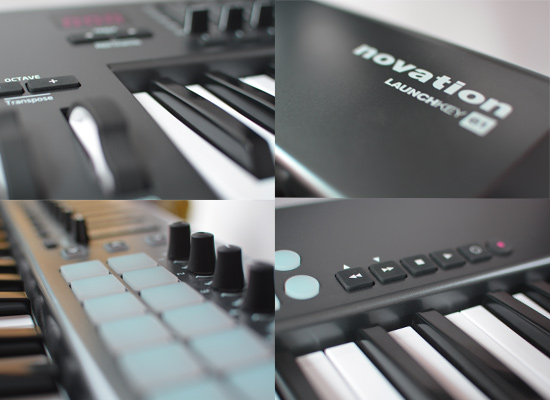 novation launchkey 61 midi controller keyboard review pro tools. Black Bedroom Furniture Sets. Home Design Ideas