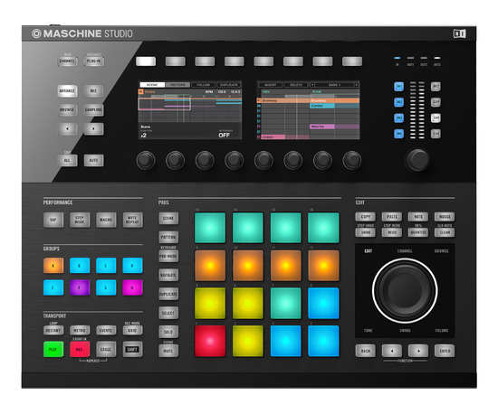 new maschine 2 hardware and software announced by native instruments pro tools expert. Black Bedroom Furniture Sets. Home Design Ideas