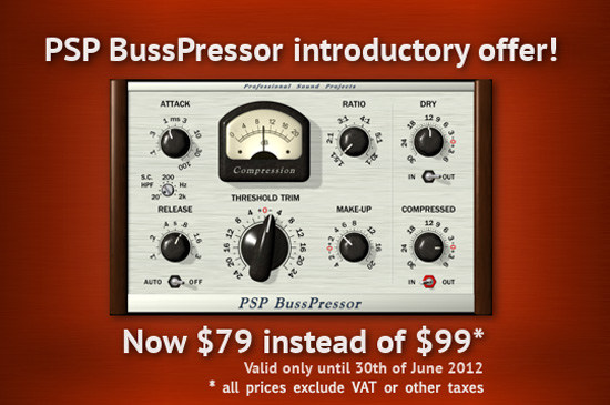 PSP_BussPressor AAX Pro Tools