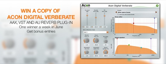 Win A Copy Of Acon Digital Verberate | Pro Tools