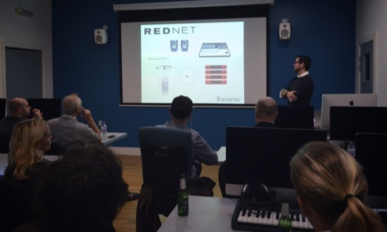 Simon Short From Focusrite Talks Technical