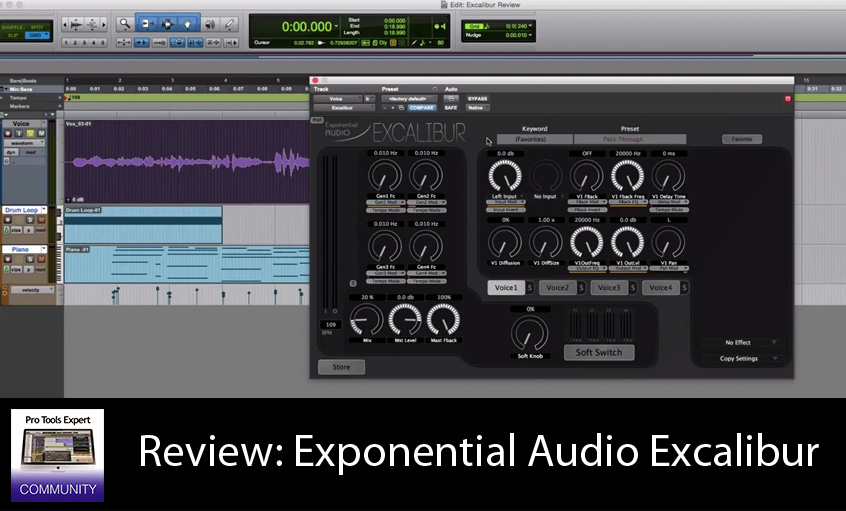 Review - R4 Reverb Plug-in from Exponential Audio - Extended