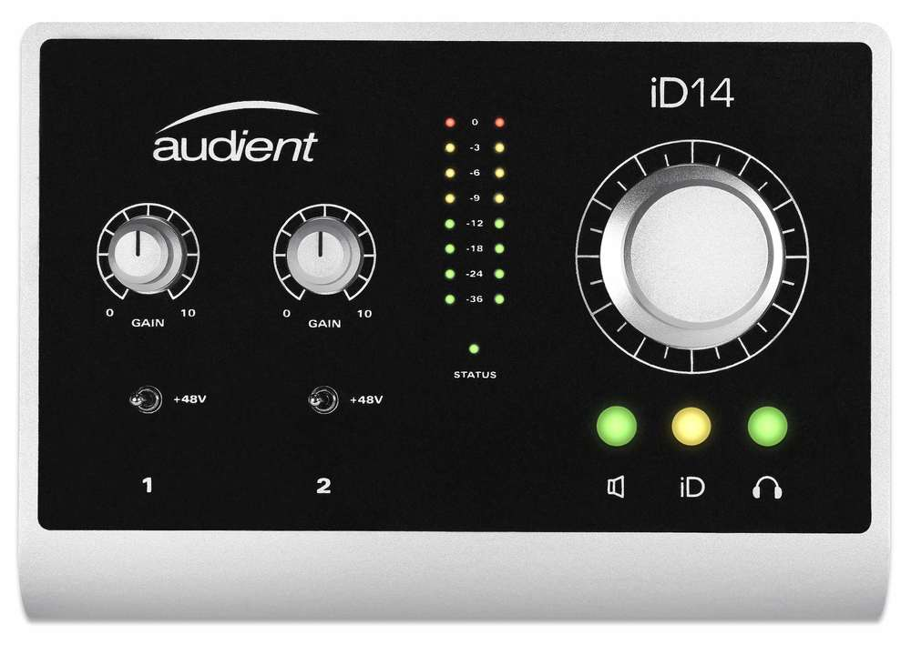 Audient iD14 Top
