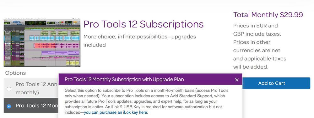 Pro Tools 12 Rental