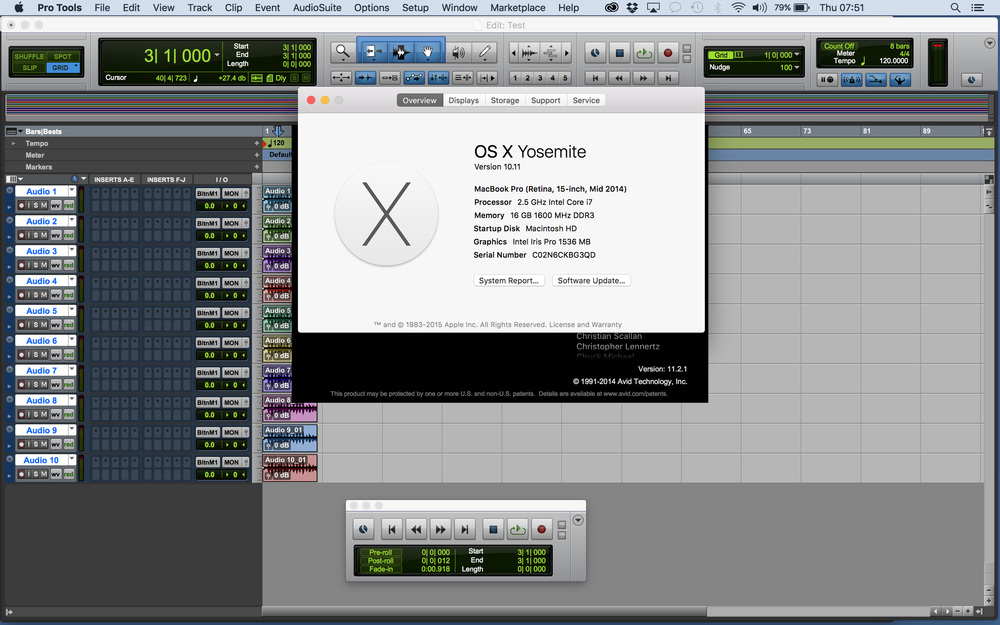 Pro Tools Mac Os скачать торрент - фото 2