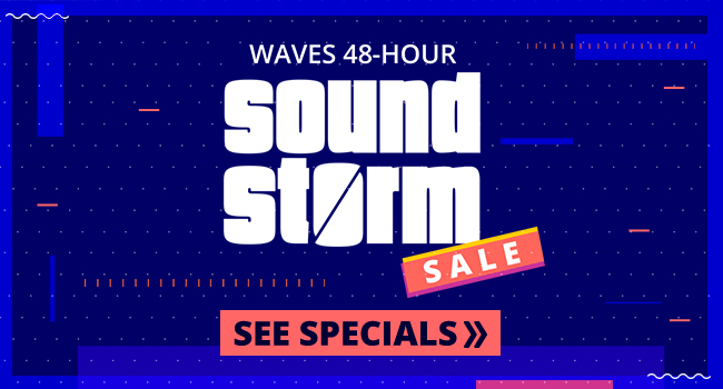 Waves Sound Storm Sale