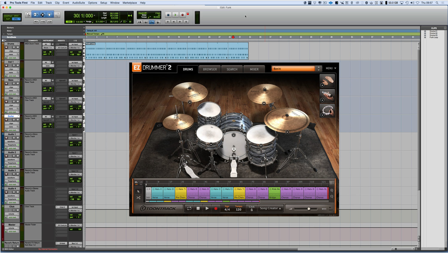 How To Use Any Virtual Instrument Plug in In Pro Tools First
