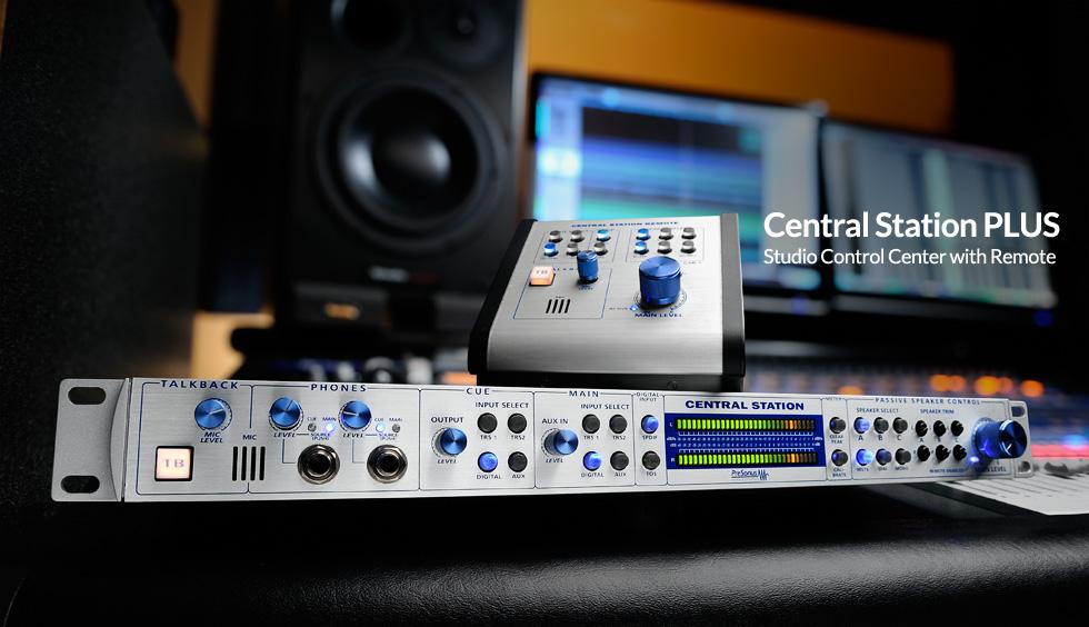 PreSonus Central Station PLUS Monitor Controller